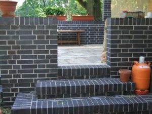 Terrasse - Pflasterarbeiten